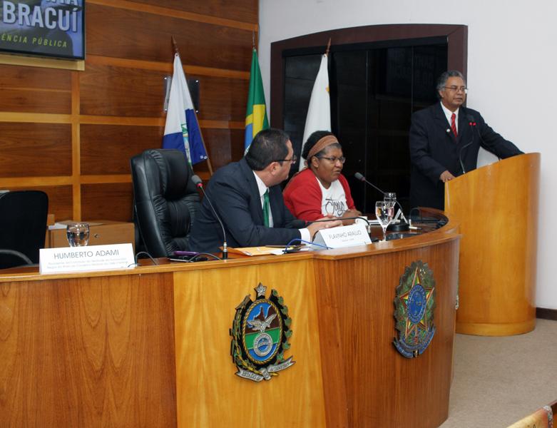 Audiência pública discute situação do Quilombo do Bracuí