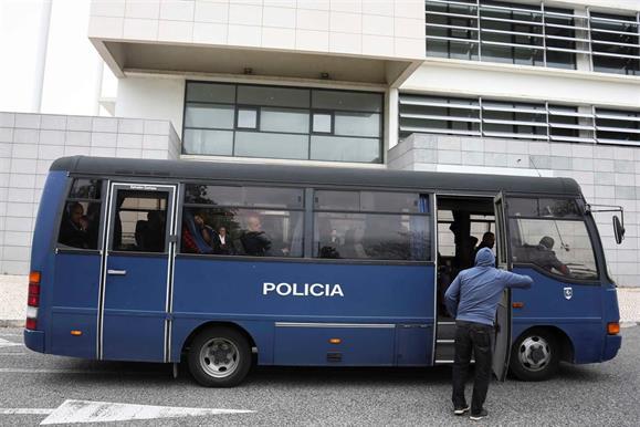17 agentes da PSP estão a ser julgados no tribunal de Sintra | CARLOS COSTA / GLOBAL IMAGENS