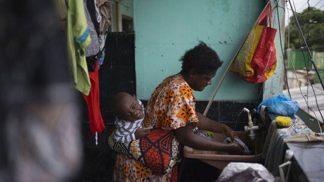 Congoleses enfrentam violência, pobreza e desemprego para recomeçar no Brasil (FABIO TEIXEIRA/ BBC NEWS BRASIL)
