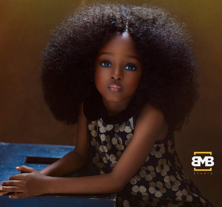 Menina de 5 anos da Nigéria é considerada a