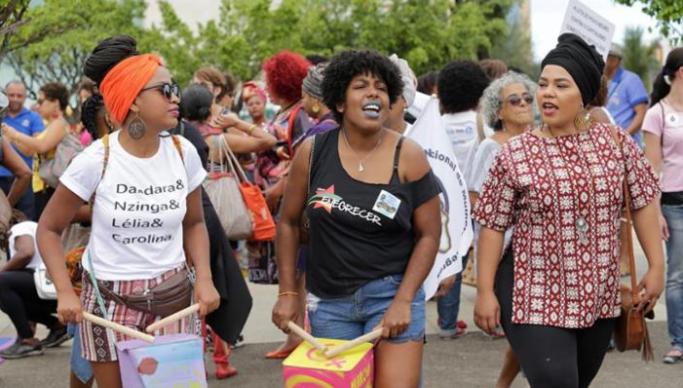 Mulheres negras de João Pessoa saem em cortejo contra o racismo