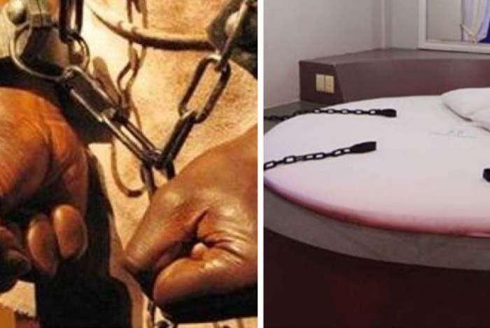 Motel usa temas da escravidão com jaulas e grilhões e causa polêmica