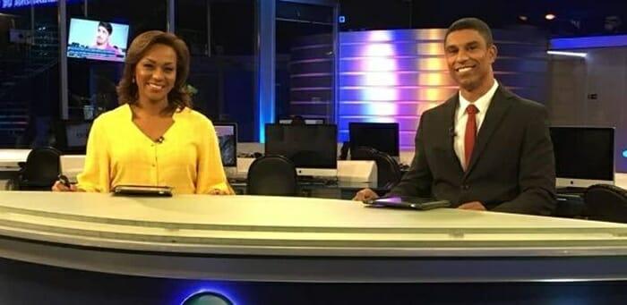 RedeTV! faz história ao escalar primeira dupla negra à frente de telejornal