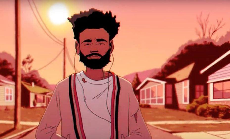 Em novo videoclipe, Childish Gambino transforma Beyoncé e Kanye West em cartoons