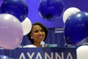 Pela primeira vez uma mulher negra venceu no Massachusetts. Reagiu assim