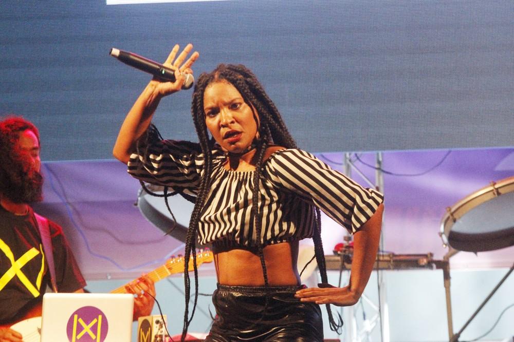 Larissa Luz e Luedji Luna cantam em festival de música em Salvador