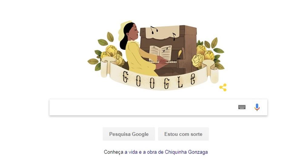 Chiquinha Gonzaga recebe homenagem do Google: saiba biografia da pianista