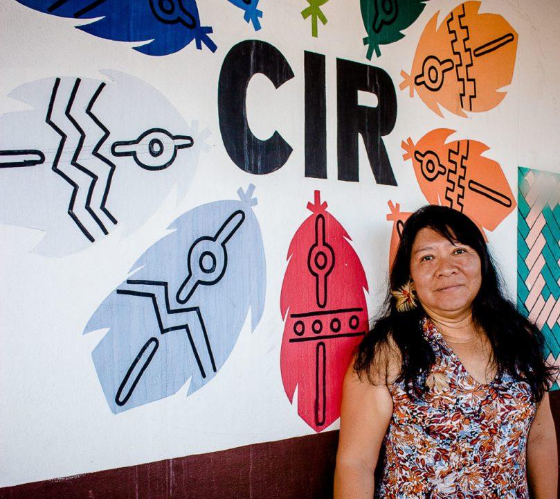 Boa Vista, RR - Joênia Wapichana liderança indígena em Roraira. (Foto Yolanda Simone/Amazônia Real)