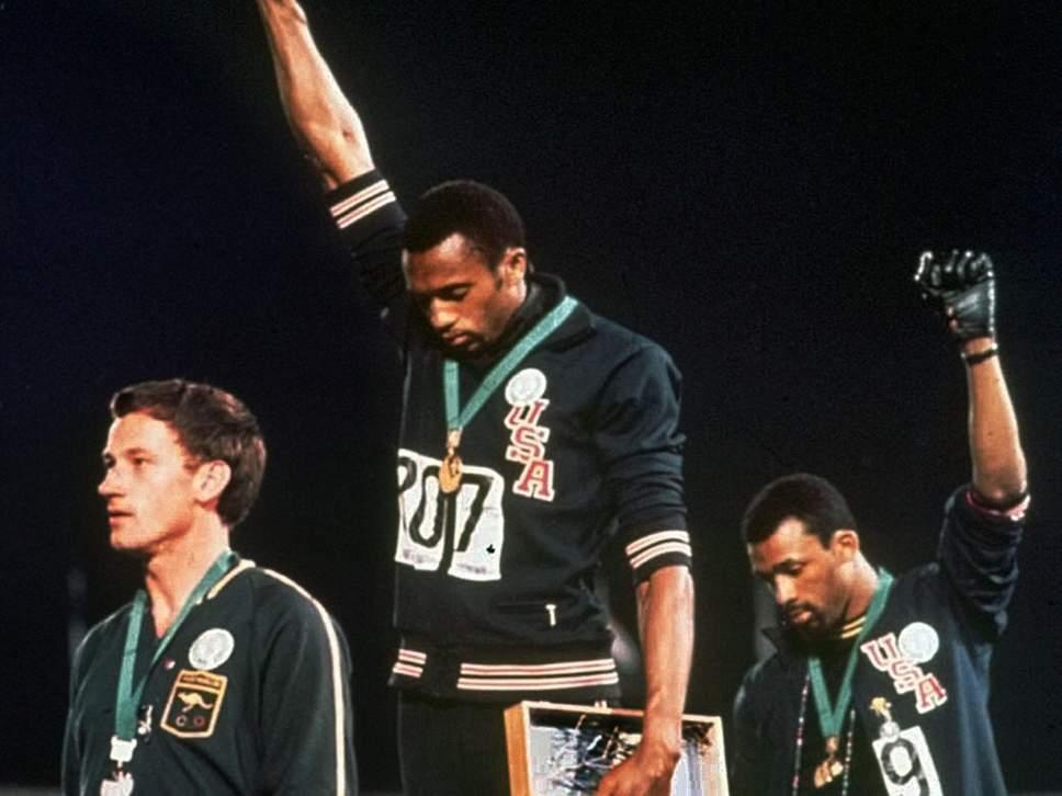 Após 50 anos, punhos erguidos na Olimpíada de 1968 se tornaram atemporais