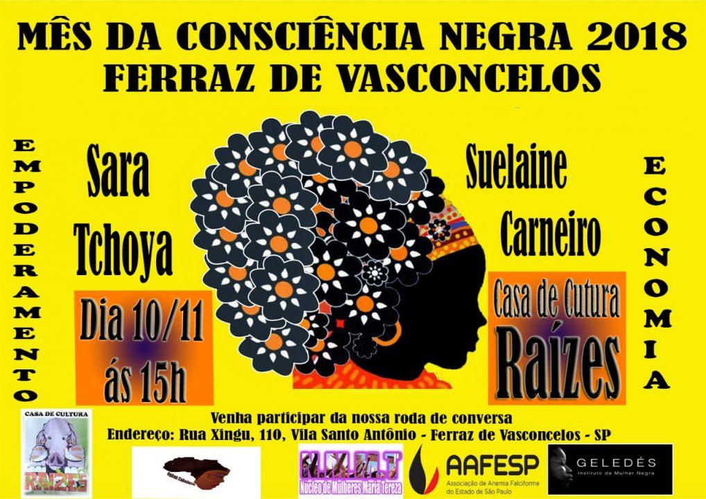 Ferraz de Vasconcelos: Mês da Consciência Negra 2018