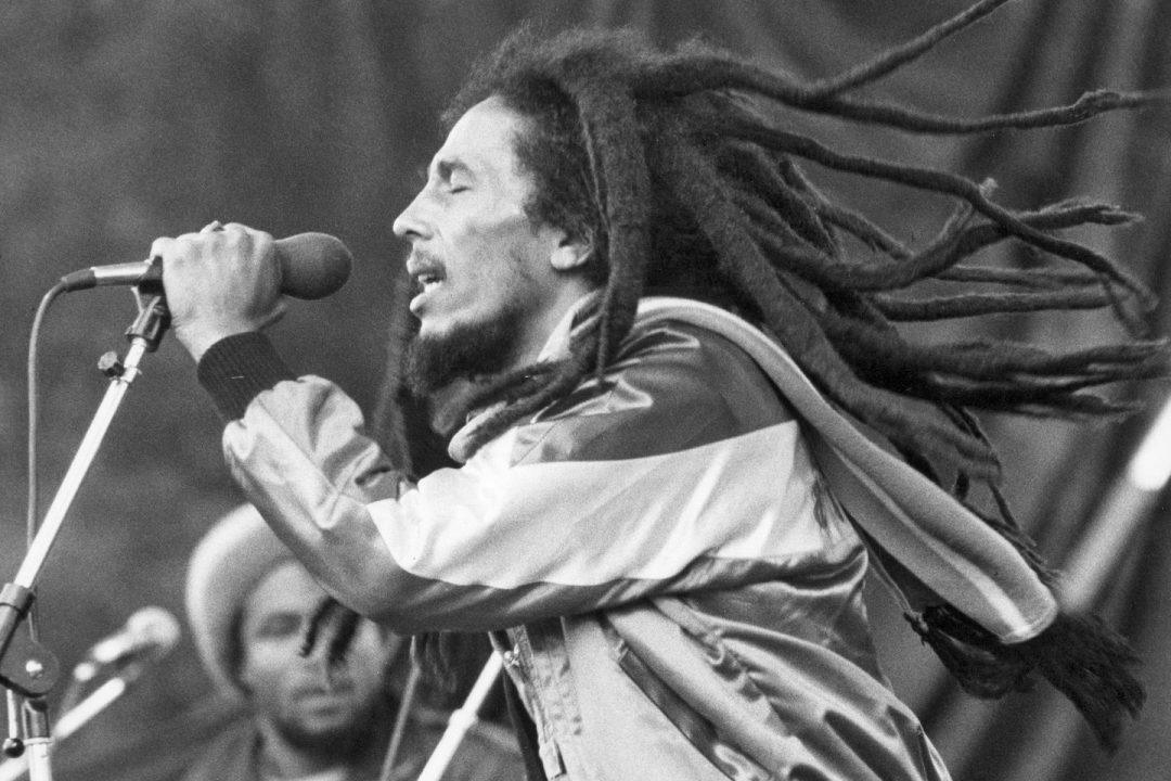 Reggae musician and singer, Bob Marley in concert on July 1st, 1981. Jürgen & Thomas:ullstein bild via Getty