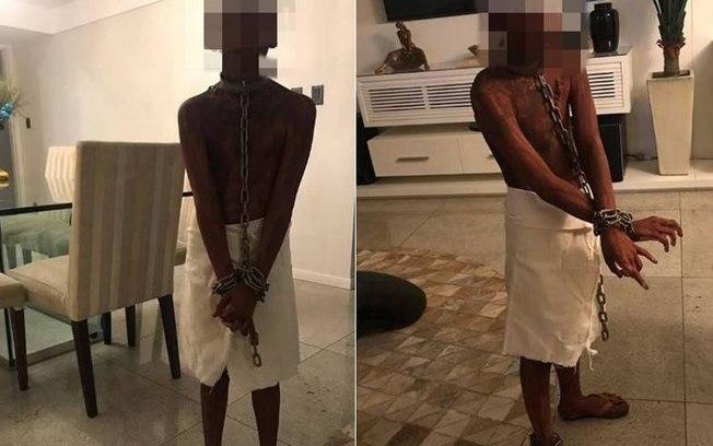 Polícia vai intimar mãe que 'fantasiou' filho de escravo para festa de Halloween