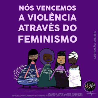 MULHER NEGRA: Pela vida das mulheres: seguiremos em marcha!