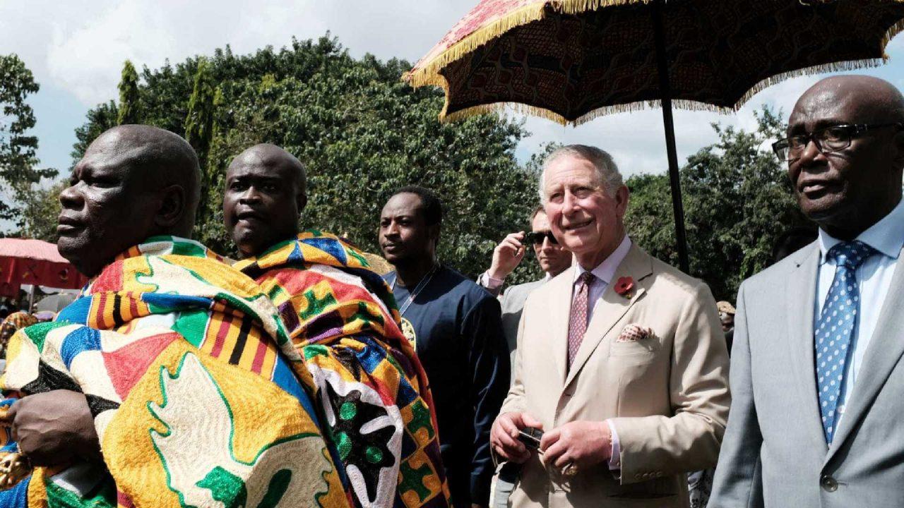 Em Gana, Charles reconhece papel do Reino Unido no tráfico de escravos