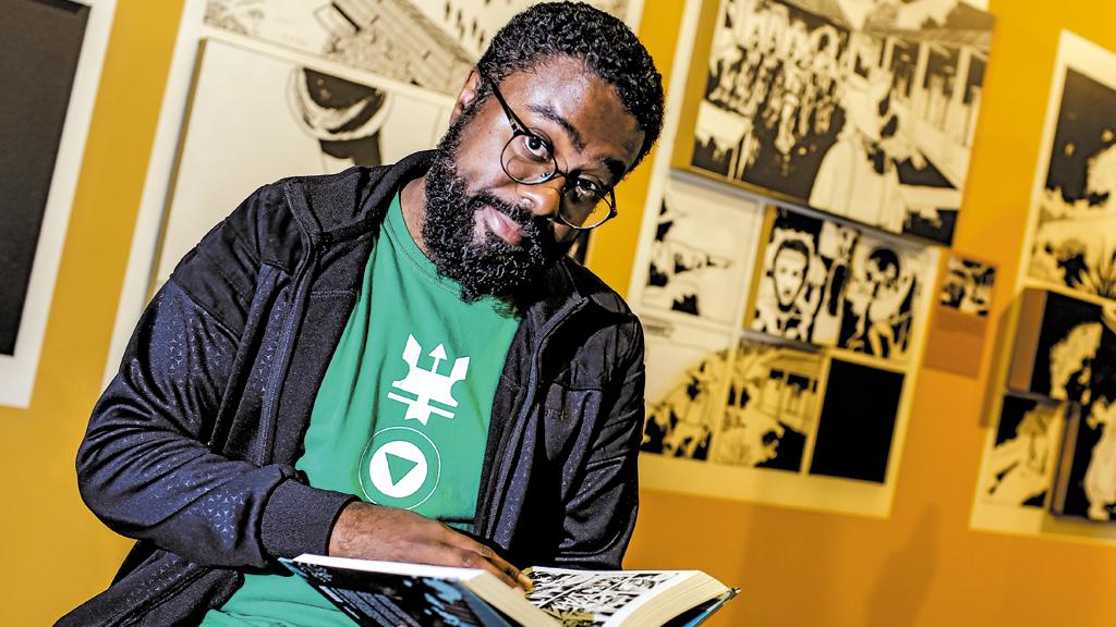 HISTÓRIA Obras de Marcelo D'Salete resgatam episódios da experiência afro-brasileira (Crédito: Thiago Bernardes)