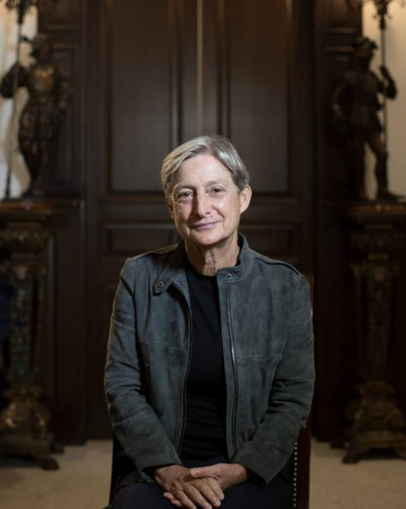 A filósofa norte-americana Judith Butler em Guadalajara (México). FIL