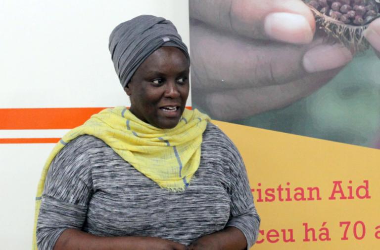 Amanda Mukwachi – Foto: Natália Blanco/ KOINONIA