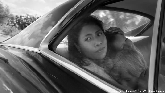 """A atriz mexicana Yalitza Aparicio em """"Roma"""", filme de Alfonso Cuarón. Ela concorre ao Oscar de melhor atriz"""