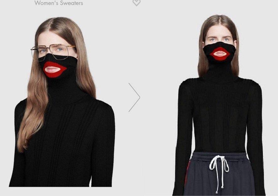 Acusado de racismo, Gucci retira de venda suéter preto com lábios vermelhos