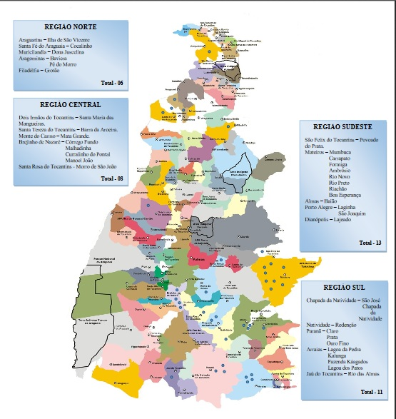 Luciano Pereira elaborou mapa das comunidades quilombolas no estado a partir de dados do Diário Oficial da União.
