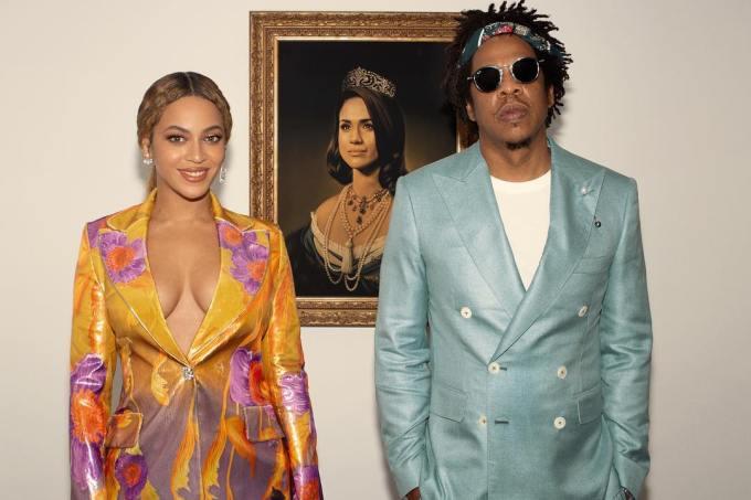 Beyoncé homenageia Meghan Markle a transformando em rainha