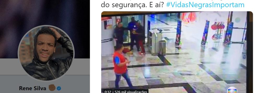 Vídeo prova que Pedro Henrique Araujo,  jovem assassinado no Extra não tentou roubar arma de segurança