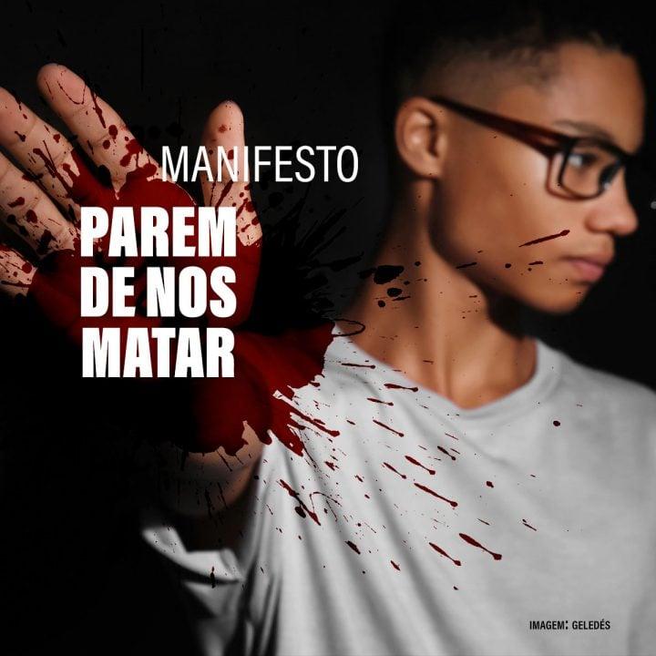 MANIFESTO: Assassinado! Mais um corpo negro assasinado!