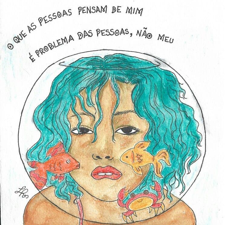 """""""Estar sozinha não é estar infeliz"""", defende Rebouças"""