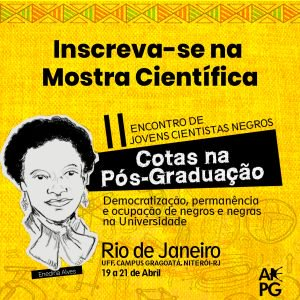 II ENCONTRO DE JOVENS CIENTISTAS NEGRAS E NEGROS