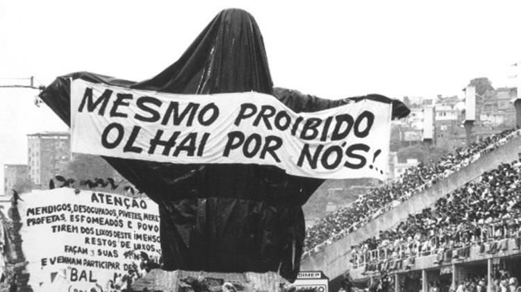 Os 10 momentos mais politizados da história dos desfiles de escolas de samba do Rio