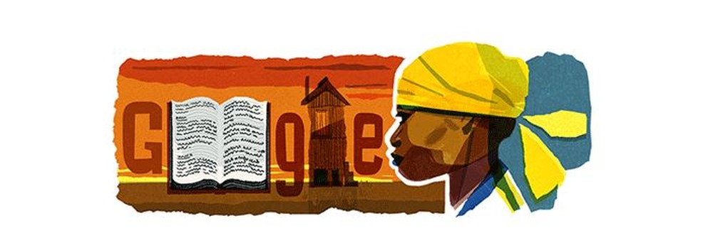 Doodle do Google homenageia a escritora Carolina Maria de Jesus