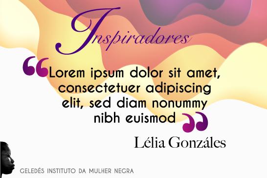 Lélia Gonzáles - inspiradores