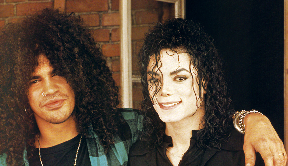 Slash, guitarrista do Guns N 'Roses fala sobre quem foi Michael Jackson realmente