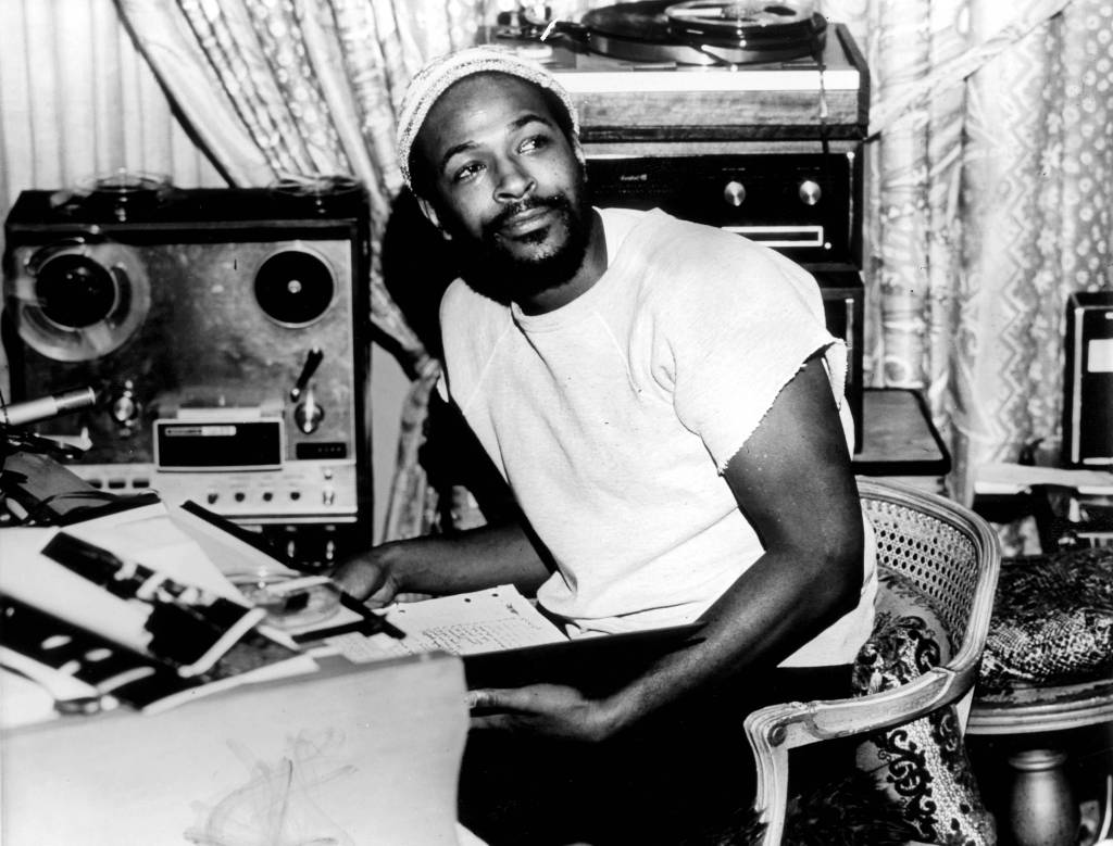 UNITED STATES - JANUARY 01: USA Photo of Marvin GAYE, Portrait of Marvin Gaye, wearing hat (Photo by Gems/Redferns)