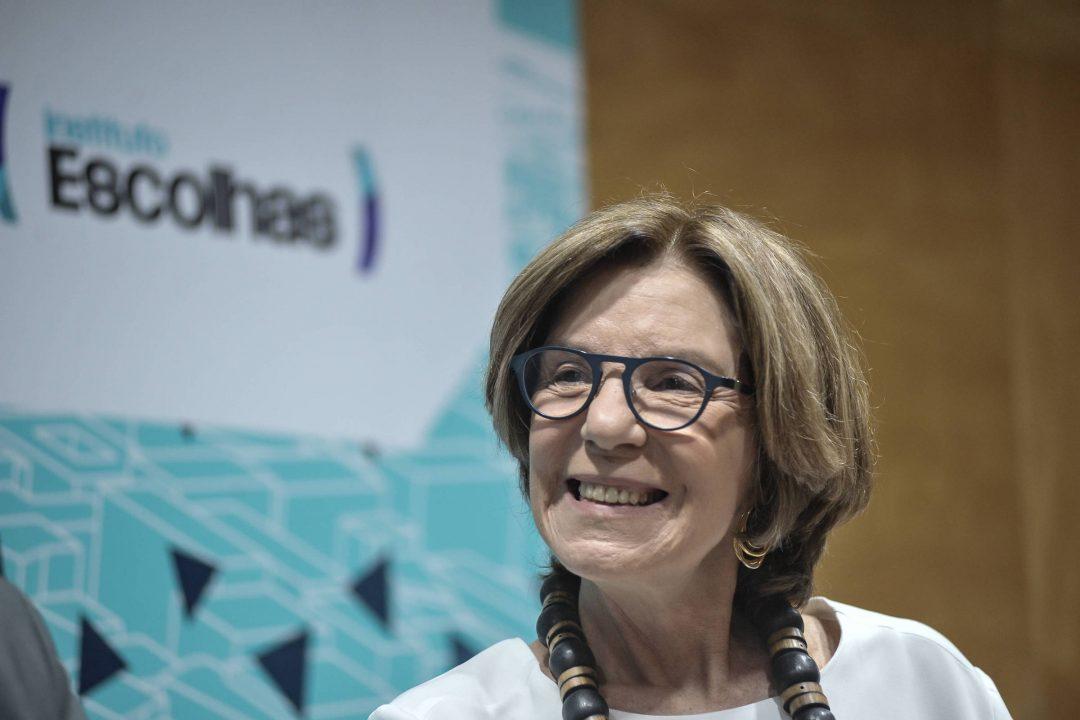 Maria Alice Setubal, presidente do conselho da Fundação Tide Setubal - Reinaldo Canato - Folhapress