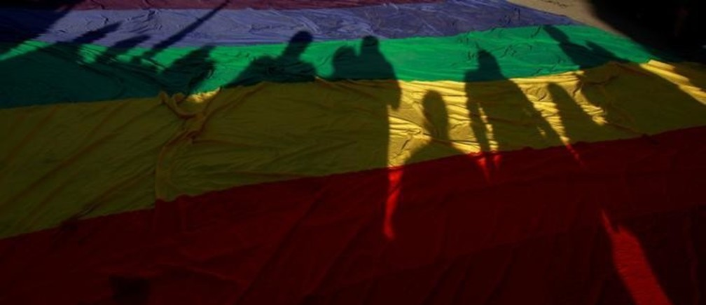 Only 5% of Russians are in favour of same-sex marriage, according to a recent survey. Image: REUTERS/Jose Luis Gonzale