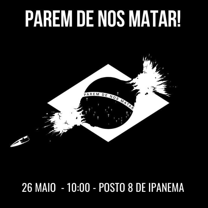 A cada dia, polícia do Rio de Janeiro mata cinco pessoas