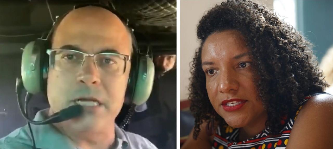 Partido de Witzel pede a cassação de deputada que denunciou o governador à ONU