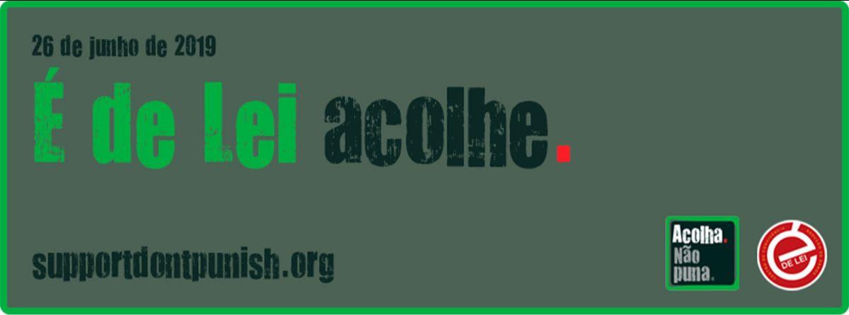 É de Lei acolhe: organizações participam de ação global da campanha