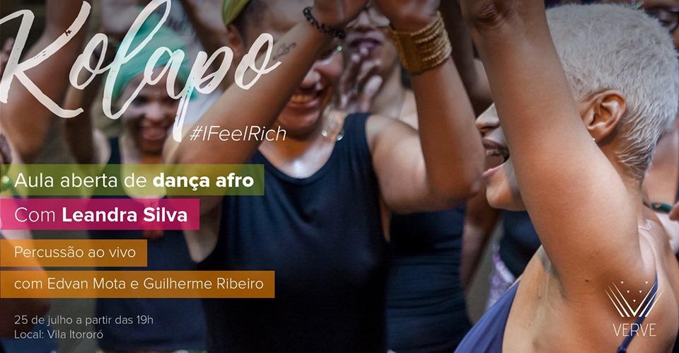 Aula aberta e gratuita de dança afro, em São Paulo, celebra a riqueza ancestral no Dia da Mulher Negra Latino-americana e Caribenha