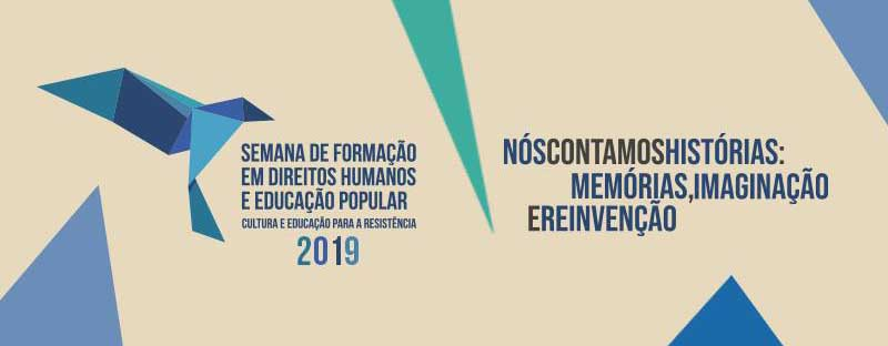 4ª edição da Semana de Formação em Direitos Humanos e Educação Popular está com inscrições abertas