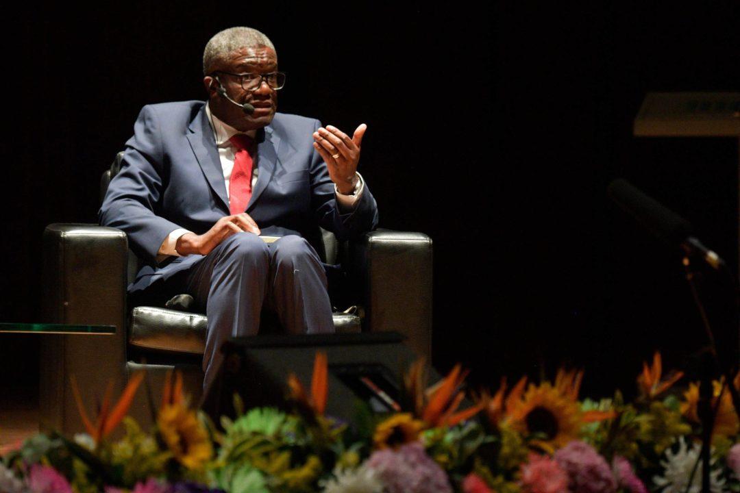 O Nobel da Paz Denis Mukwege, que fala em São Paulo nesta quarta (21) - Raul Arboleda/AFP