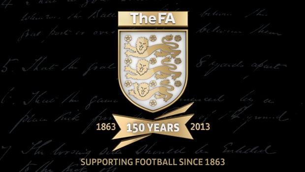Novo escudo da associação inglesa de futebol - Crédito Divulgação