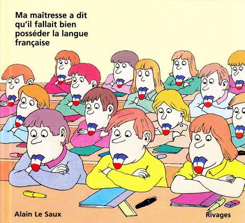A minha professora disse que era preciso dominarmos bem a língua francesa | 1985 | Alain Le Saux