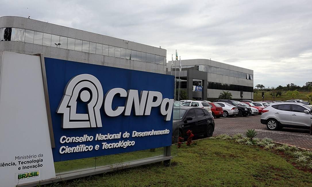 Sede do CNPq, em Brasília: conselho anunciou hoje corte de bolsas de graduação e pós Foto: Herivelto Batista / ASCOM-MCTIC