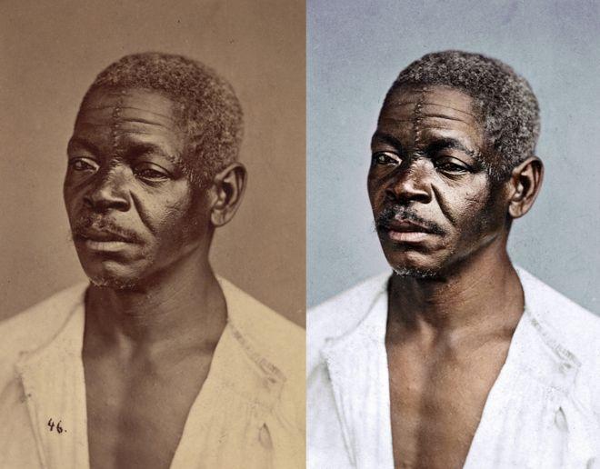 Legenda da foto original diz apenas 'tipos negros'