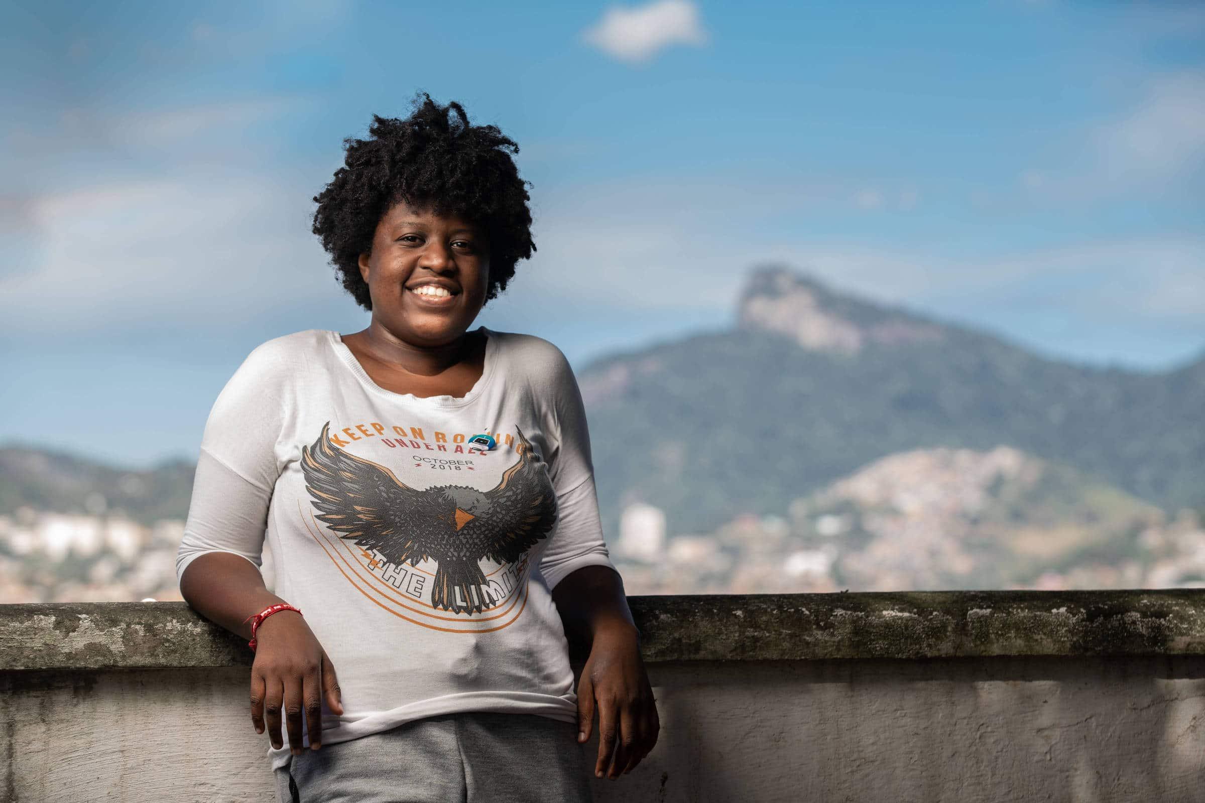 Ana Carolina da Hora, 24, aluna de ciência da computação de Duque de Caxias (RJ) - Ricardo Borges/Folhapress