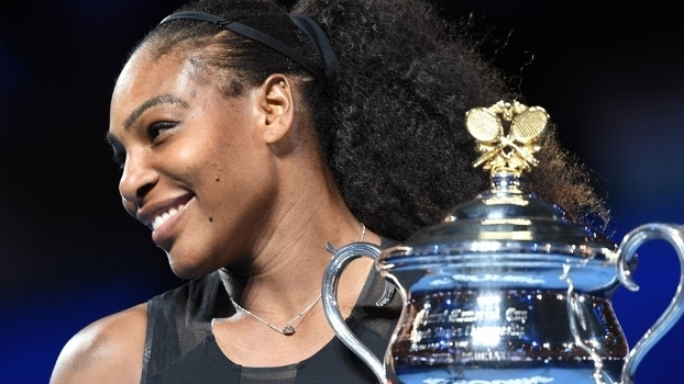 Serena Williams foi campeã do Australian Open em janeiro PAUL CROCK/AFP/Getty Images