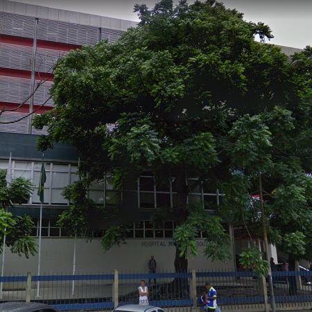 Entrada do Hospital Municipal Souza Aguiar Imagem: Reprodução/Google Maps