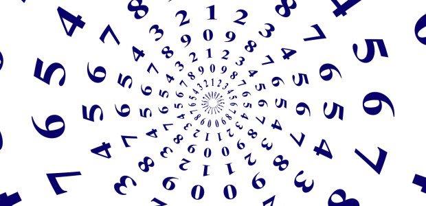Números formando um circulo